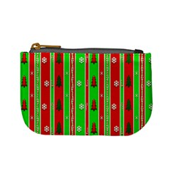 Christmas Paper Pattern Mini Coin Purses