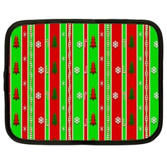 Christmas Paper Pattern Netbook Case (XL)