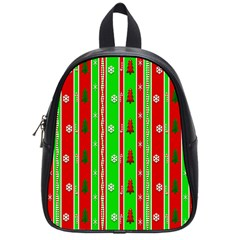 Christmas Paper Pattern School Bags (Small)