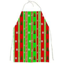 Christmas Paper Pattern Full Print Aprons