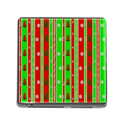 Christmas Paper Pattern Memory Card Reader (Square)