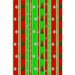 Christmas Paper Pattern 5.5  x 8.5  Notebooks