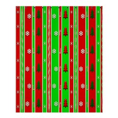 Christmas Paper Pattern Shower Curtain 60  x 72  (Medium)