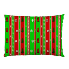 Christmas Paper Pattern Pillow Case (Two Sides)