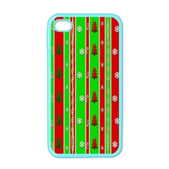 Christmas Paper Pattern Apple iPhone 4 Case (Color)
