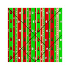 Christmas Paper Pattern Acrylic Tangram Puzzle (6  X 6 )