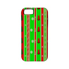 Christmas Paper Pattern Apple iPhone 5 Classic Hardshell Case (PC+Silicone)