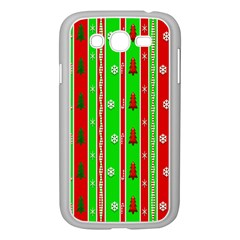 Christmas Paper Pattern Samsung Galaxy Grand DUOS I9082 Case (White)