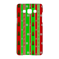 Christmas Paper Pattern Samsung Galaxy A5 Hardshell Case