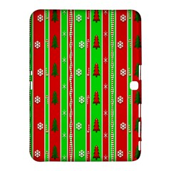 Christmas Paper Pattern Samsung Galaxy Tab 4 (10.1 ) Hardshell Case