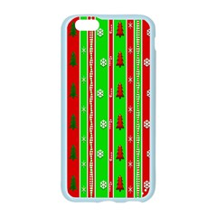 Christmas Paper Pattern Apple Seamless iPhone 6/6S Case (Color)