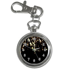 Christmas Star Advent Background Key Chain Watches