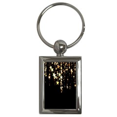 Christmas Star Advent Background Key Chains (rectangle)