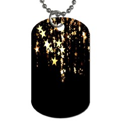 Christmas Star Advent Background Dog Tag (Two Sides)