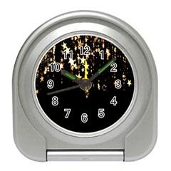 Christmas Star Advent Background Travel Alarm Clocks