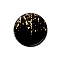 Christmas Star Advent Background Hat Clip Ball Marker (4 pack)