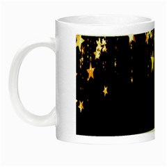 Christmas Star Advent Background Night Luminous Mugs