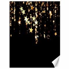 Christmas Star Advent Background Canvas 36  x 48
