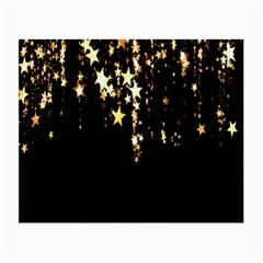 Christmas Star Advent Background Small Glasses Cloth (2-Side)