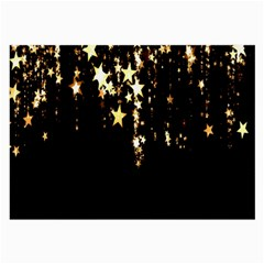 Christmas Star Advent Background Large Glasses Cloth (2-Side)