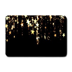 Christmas Star Advent Background Small Doormat