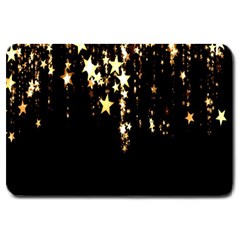 Christmas Star Advent Background Large Doormat