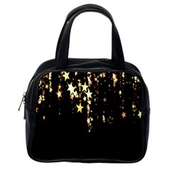 Christmas Star Advent Background Classic Handbags (One Side)