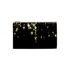 Christmas Star Advent Background Cosmetic Bag (Small)