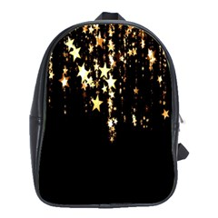 Christmas Star Advent Background School Bags(Large)