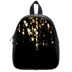 Christmas Star Advent Background School Bags (Small)