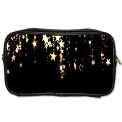 Christmas Star Advent Background Toiletries Bags 2-Side