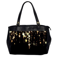 Christmas Star Advent Background Office Handbags (2 Sides)