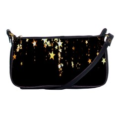Christmas Star Advent Background Shoulder Clutch Bags