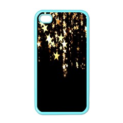 Christmas Star Advent Background Apple iPhone 4 Case (Color)