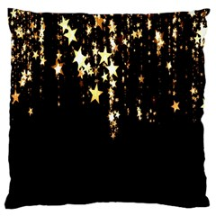 Christmas Star Advent Background Large Cushion Case (Two Sides)