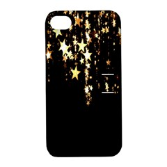 Christmas Star Advent Background Apple iPhone 4/4S Hardshell Case with Stand