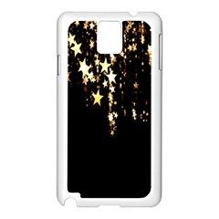 Christmas Star Advent Background Samsung Galaxy Note 3 N9005 Case (White)
