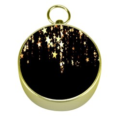 Christmas Star Advent Background Gold Compasses