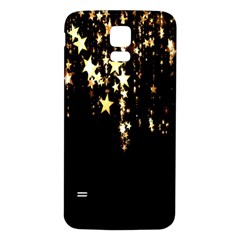 Christmas Star Advent Background Samsung Galaxy S5 Back Case (White)
