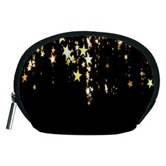 Christmas Star Advent Background Accessory Pouches (Medium)
