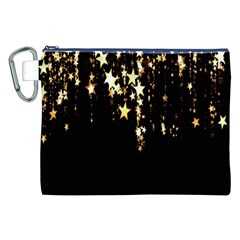 Christmas Star Advent Background Canvas Cosmetic Bag (XXL)