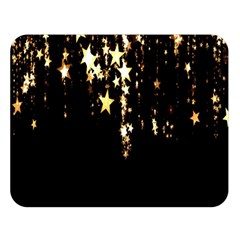 Christmas Star Advent Background Double Sided Flano Blanket (Large)