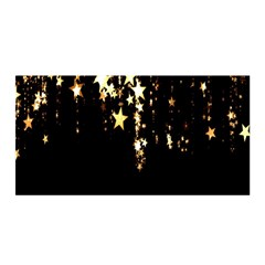 Christmas Star Advent Background Satin Wrap
