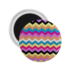 Chevrons Pattern Art Background 2.25  Magnets
