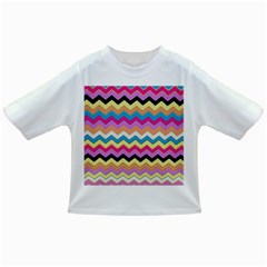 Chevrons Pattern Art Background Infant/Toddler T-Shirts