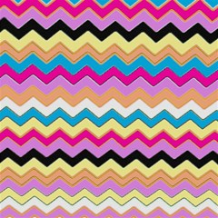 Chevrons Pattern Art Background Magic Photo Cubes