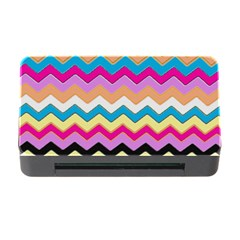 Chevrons Pattern Art Background Memory Card Reader with CF