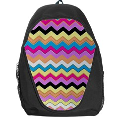 Chevrons Pattern Art Background Backpack Bag