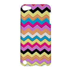 Chevrons Pattern Art Background Apple Ipod Touch 5 Hardshell Case