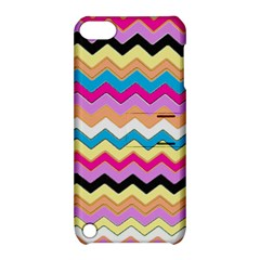 Chevrons Pattern Art Background Apple iPod Touch 5 Hardshell Case with Stand